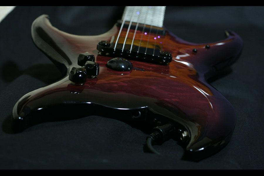 Midi Fiber Optic Guitar Body