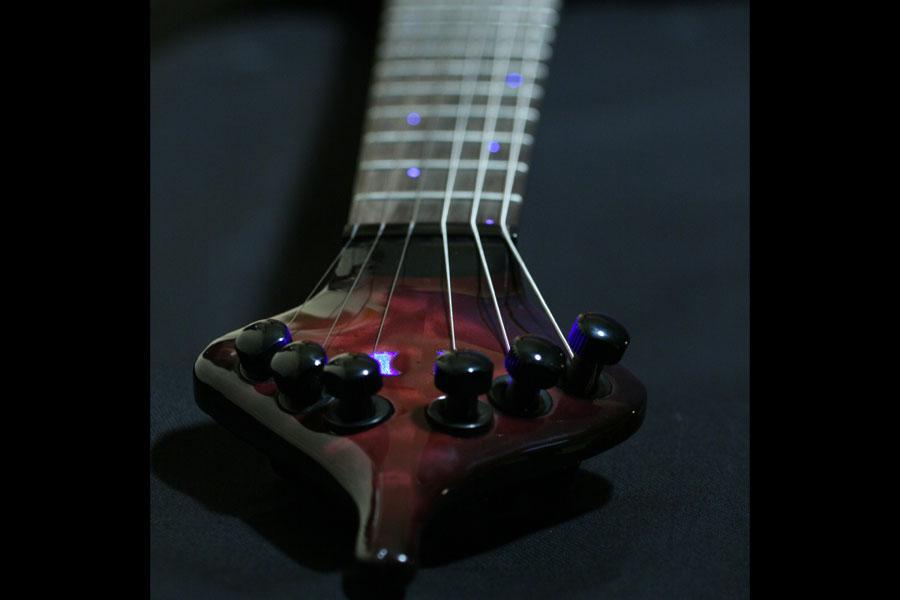 Midi Fiber Optic Guitar Head Stock