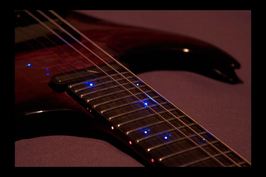 Midi Fiber Optic Guitar Neck