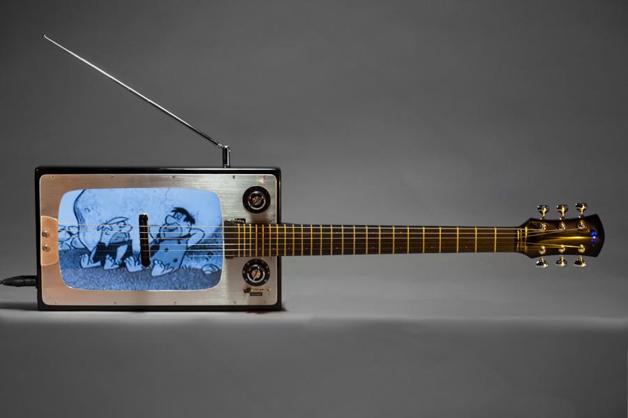 Vintage TV Guitar